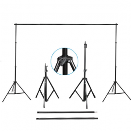 2M BY 3M backdrop stand support FOR photography backdrops  - Preferable for cloth Background
